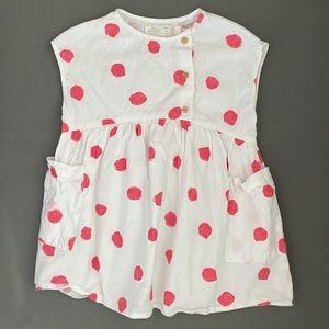 Zara Pink Polka Dot Dress